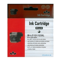 Brother LC123 BK Kompatibel Ink