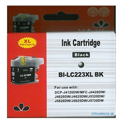 Brother LC223 BK Kompatibel Ink