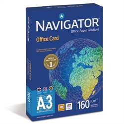 A3 Kopipapir 160g (250 ark) Navigator Office Card